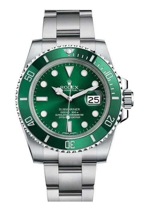 Rolex Submariner Green Date 116610LV