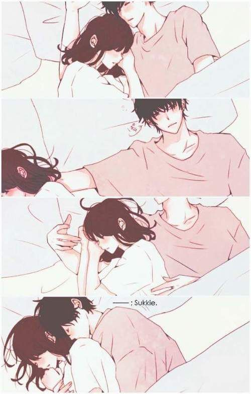 couple, sleep, and cute image