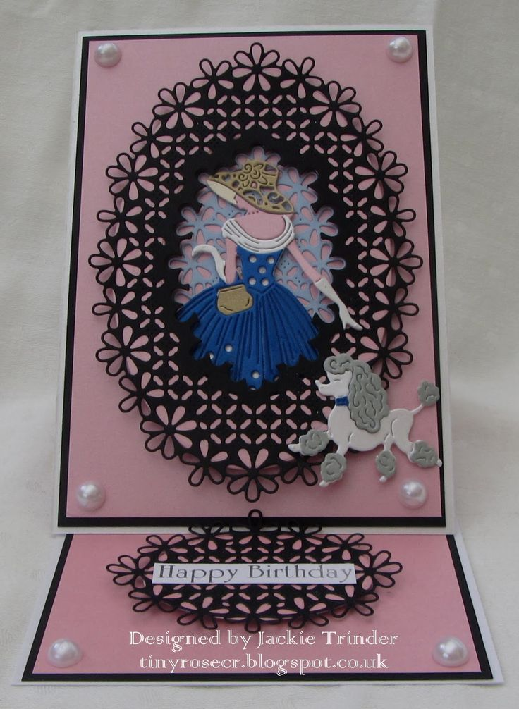Image result for cards using tattered lace emma & purdy out for a stroll