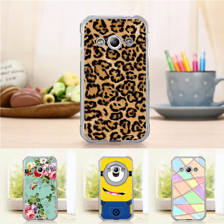 Fashion Case for Samsung galaxy xcover 3 G388F 3-east Flower Buterfly Tower Tiger Hard Back Cover Cases Top Quality