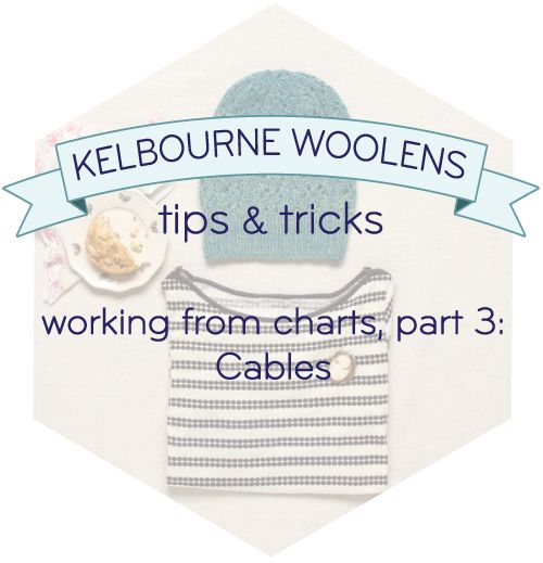 Knitting Cables Tips : Tips and tricks working from charts cables knitting