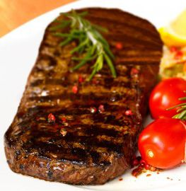Try this delicious and easy to make sirloin steak recipe on your George Foreman Grill.