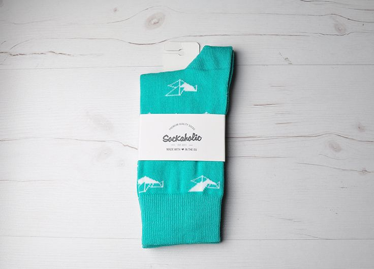 Origami  #socks #calcetines #origami #blue