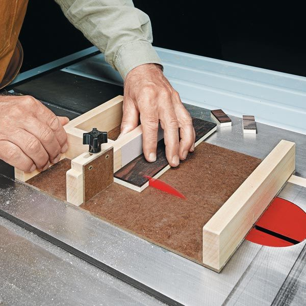 Working with Small Parts | Woodsmith Tips
