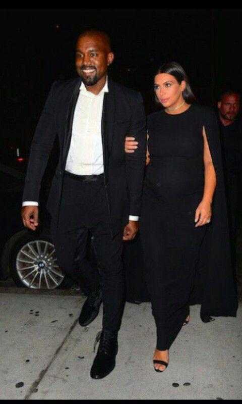 Kany West et Kim Kardashian au mariage de leur ami Steve Stoute