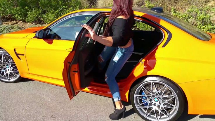 """NEW BMW M3 Fire Orange / Competition Package / Exhaust Sound / 20"""" M Whe..."""