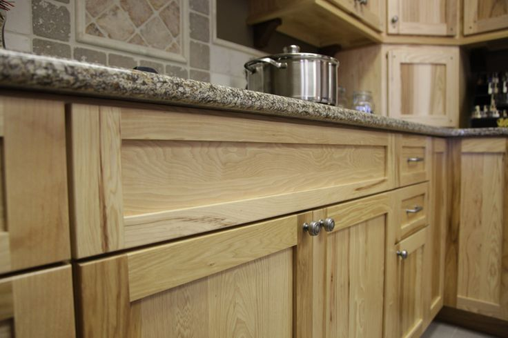 Custom Hickory Cabinets With Quartz Counter Top Made By