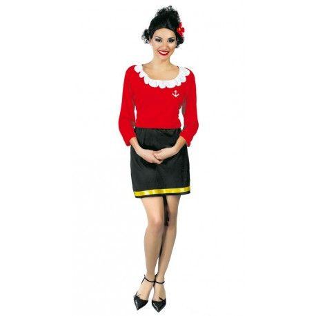Disfraz de Olivia Popeye el Marino