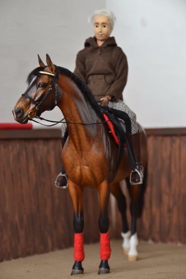 Drastic Custom Model Horse Resin Breyer Peter Stone Bay Close Contact Tack