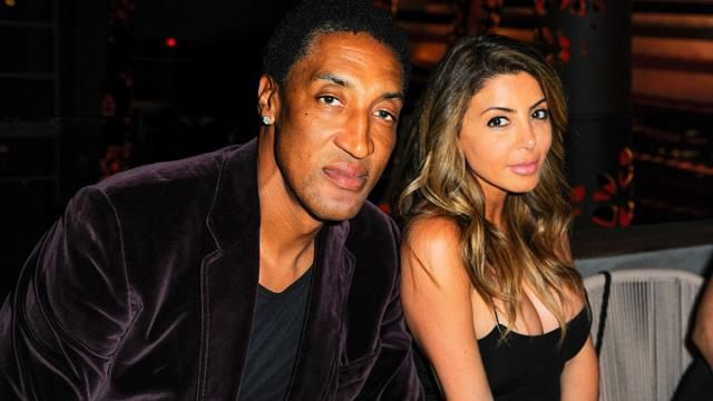 Scottie Pippen and wife Larsa