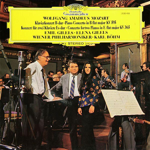 """Mozart: Klavierkonzert Nr.27"" (Emil Gilels & Elena Gilels) 1974."