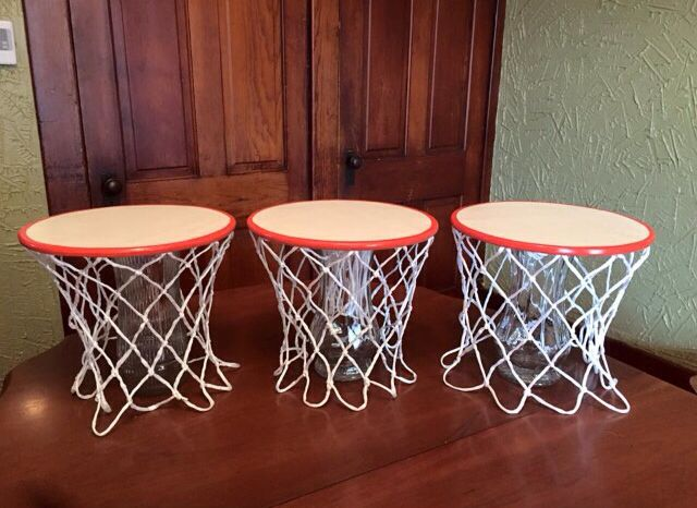 Birthday table decorations at home - Nba Party Ideas Basketball Birthday Party Games Basketball Birthday