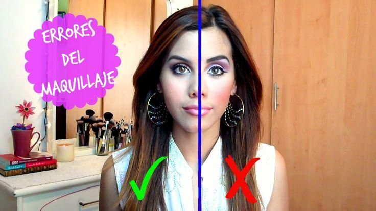 Cinco errores de maquillaje que pueden arruinarte el look