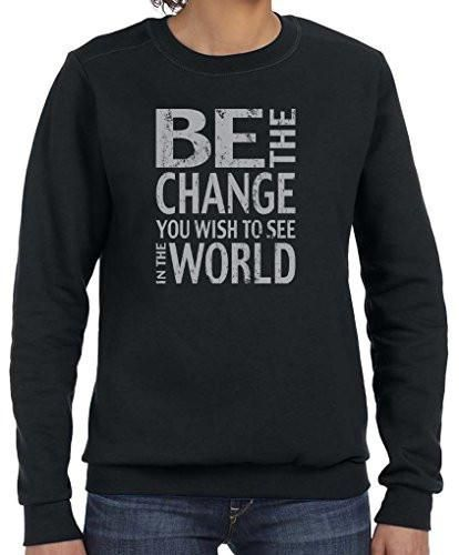 "Yoga Clothing For You Ladies ""Be The Change"" Lightweight Sweatshirt"