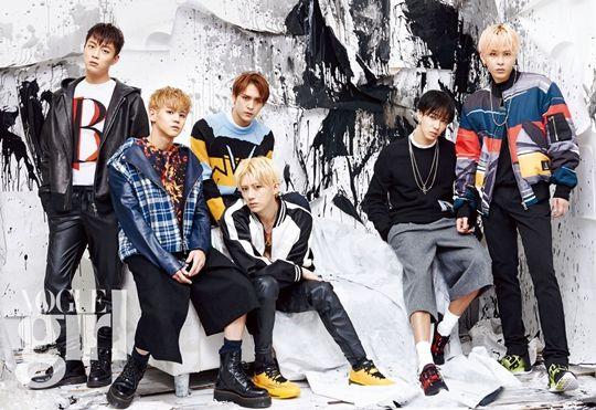 Beast in Vogue Girl Korea August 2015 Look 1