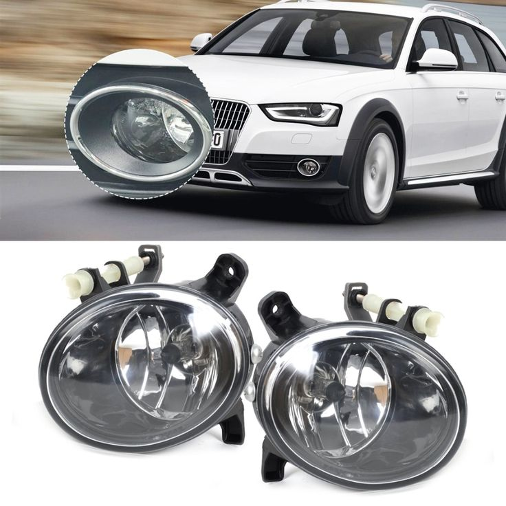 Tracking New Pair Front Right + Left Fog Light Lamp