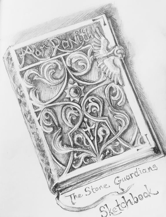 The Stone Guardians Sketchbook: Page