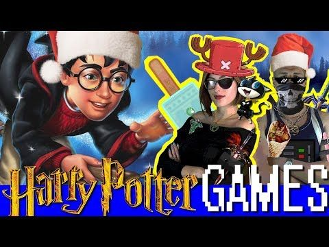 🎄Stephi & Pyrit - Harry Potter Games - Christmas Special - Game review(s) - YouTube