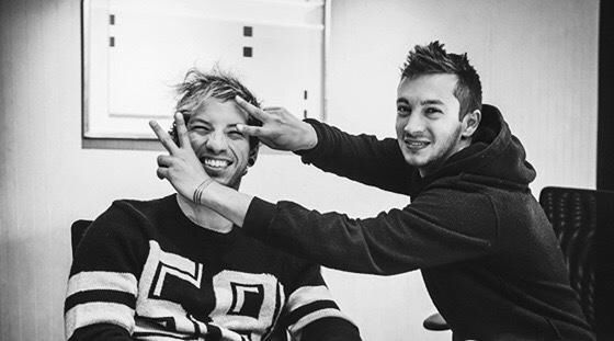 remember the morning is when the night is dead ✧ josh dun and tyler joseph of twenty one pilots