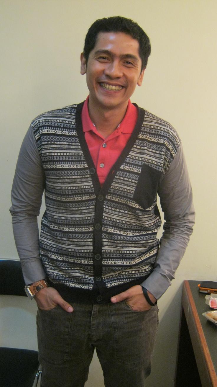 Adi Nugroho, host of Sang Juara on B Channel
