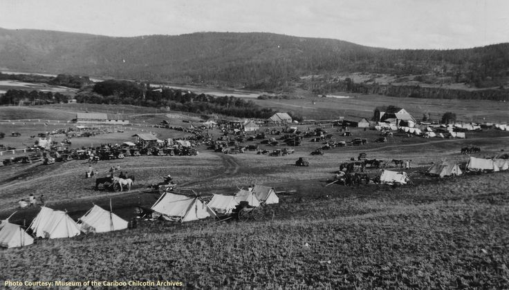 Although the Williams Lake Stampede is still 3 1/2 months away, we can still take a trip back through time. Check out 'tent city' on the Stampede grounds back in 1920.