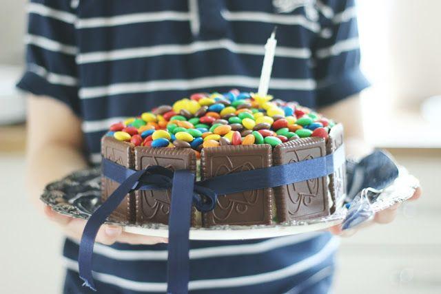 LA PETITE PRINCESSE: Synttäritunnelmissa. M&M cake