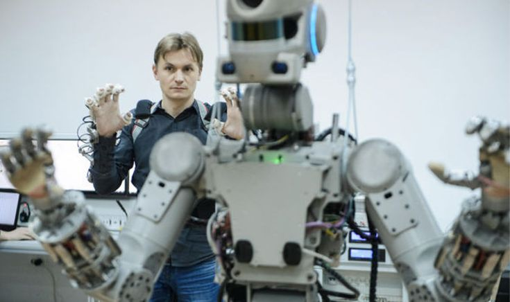 #Russian #Astronaut #Cyborg Preps for Mission...
