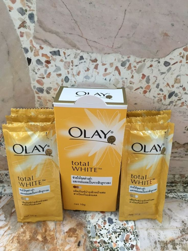 6x10g Total Whitening OLAY Cream Spot Lightening Lets spots and acne scars fade #OLAY