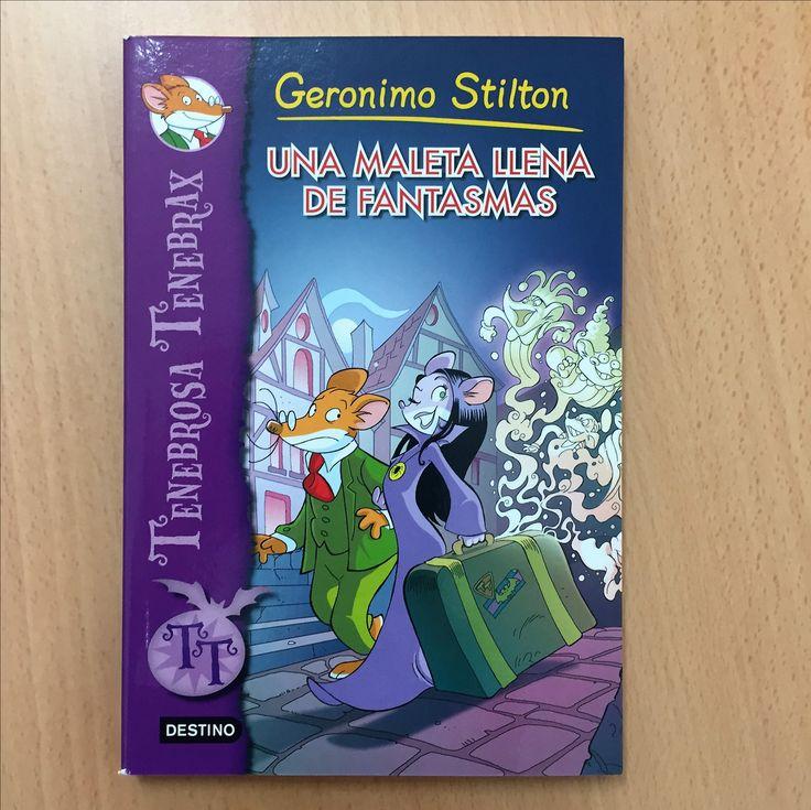 Para rapaces e rapazas de 3º e 4º Tenebrosa e Geronimo Stilton buscan ao responsable de gastar bromas pesadas e sementar o caos no Castillo de la Calavera.