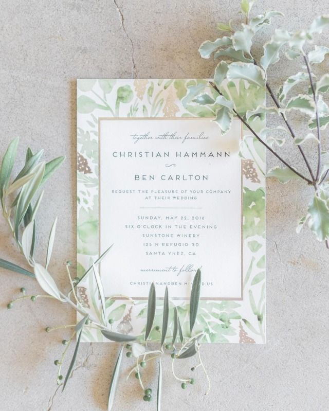 watch wedding invitation movie online eng sub%0A Snap by   Design by Find more unique botanical and floral stationery  creations for your wedding celebrations on Minted