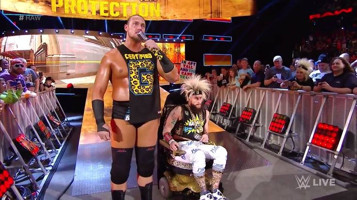 """""""As you can see Enzo Amore cannot fight tonight... but I can, and I'm going to drop the BOTH of you MYSELF!"""" - Big Cass on WWE Raw"""