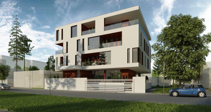 Cozy Dwelling: http://www.cubarhitect.ro/imobil-rezidential-cu-10-apartamente-galati-gl-proiect-din-portofoliul-cub-architecture-ro