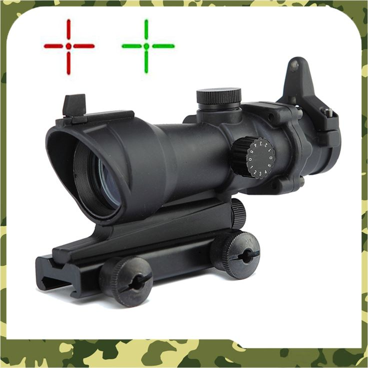 ACOG 1x32 Green Red dot Scope with red dot sight Tactical Shooting Hunting scope