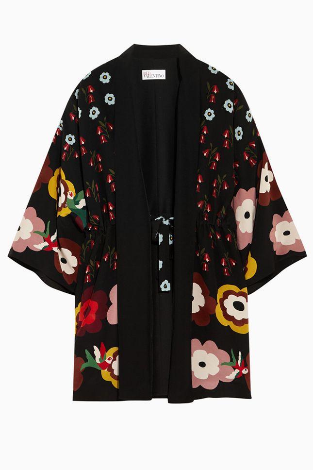 Как и с чем носить кимоно: модные модели и лучшие образы на подиумах и фото звезд   Vogue   Мода   Выбор VOGUE   VOGUE