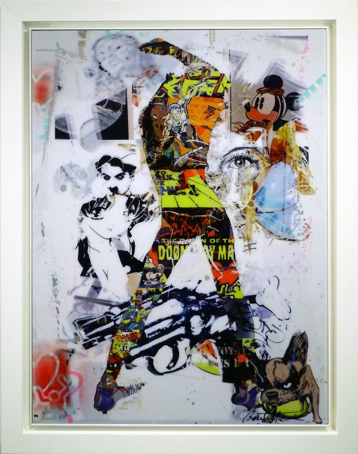 Prachtig expressief werk van de befaamde Franse Street-art kunstenaar Cédric Bouteiller. Bouteiller is een multi-media en multi-gediciplineerd kunstenaar. Zijn werk bestaat uit een unieke samensmelting van technieken: hedendaagse fotografie, schilderkunst, graffiti, digitale manipulatie en collages. Zijn werk kent een ongeëvenaarde diepte in gelaagdheid en een energie waarbij de toeschouwer keer op keer wordt verrast door nieuwe details en indrukken.  Het werk van Bouteiller wordt inmiddels…