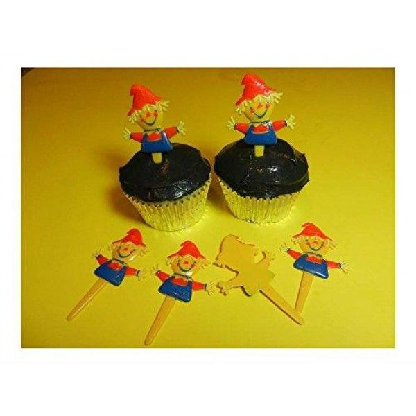 12 Scarecrow Halloween Fall Thanksgiving Cupcake Toppers Picks Cake Decorations U.S Top Seller!  12 Scarecrow Halloween Fall Thanksgiving Cupcake Toppers Picks Cake Decorations Features : You are buying a package of 12 #cupcake toppers. *These are plastic toppers for decorating cupcakes. *These are not edible. Caution small parts - not suitable for children under 3 years old. *12 #Scarecrow #Halloween #Fall Thanksgiving Cupcake Toppers Picks #Cake #Decorations...