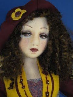 Destiny my boudoir doll Created by Vicki Leeke Victoridolls