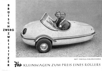 Brütsch Zwerg Zweisitzer, 1955