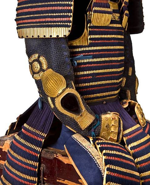 A gold-lacquer suit of armor, Edo period (18th century) © 2002-2009 Bonhams 1793 Ltd