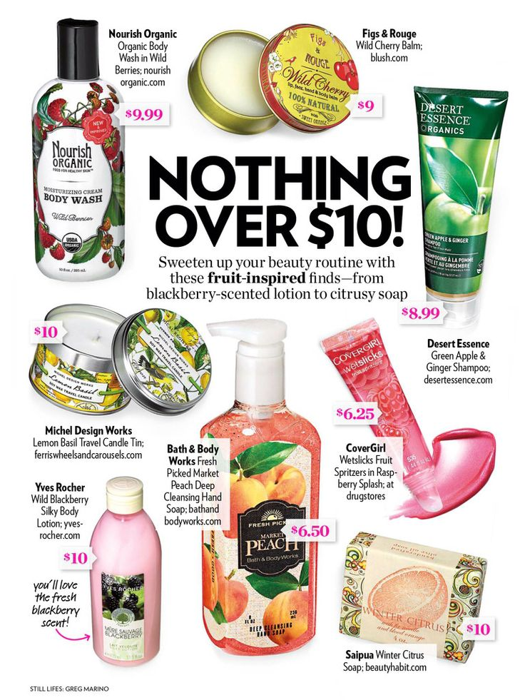 Our Blackberry Body Lotion in the pages of People Style Watch!