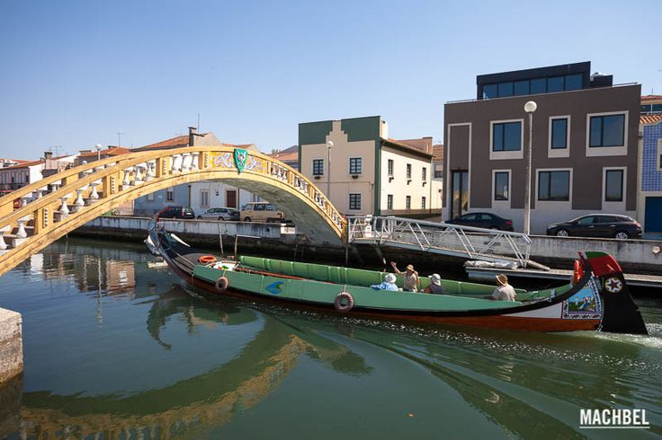 Canales de Aveiro Aveiro la Venecia Portuguesa. Portugal 2