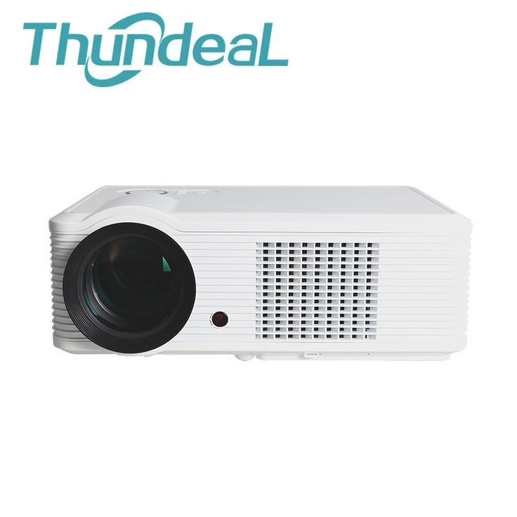 Simple ThundeaL Lumens LED Projector HD LCD Speaker D TV Home Theater Projektor Proyector HDMI VGA USB