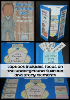 Henrys Freedom Box Is A MUST Readfor Upper Elementary Especially If Youre