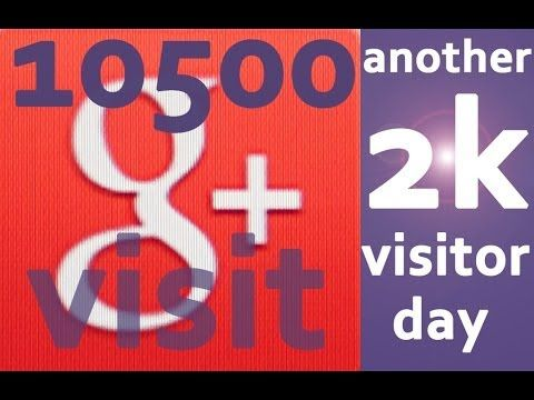 INTERNET MILLIONAIRE SAYS DO THIS!!! SO I DO AND THE RESULTS FLOW IN G+ 10000 VISITORS!!!....GO FIGURE!!!! http://simplartimes.com  CLICK BELOW TO GO TO THE POST http://simplartimes.com/success-formula-4000-visitors-2-days/