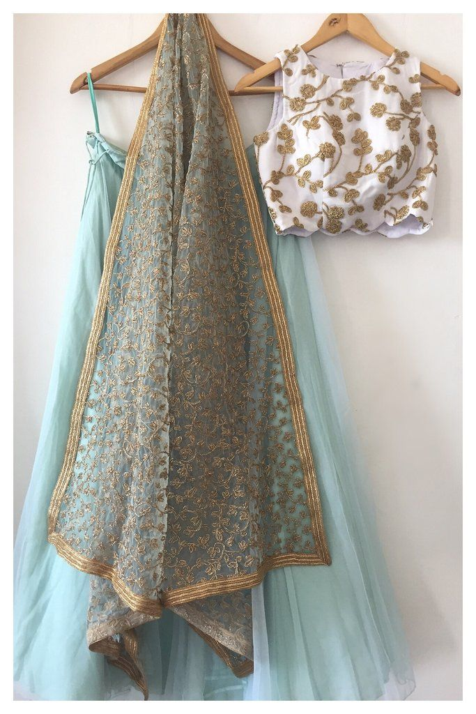 The Shoreline Lehenga Set