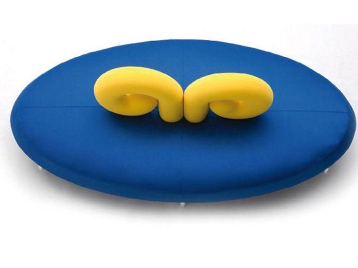 Round fabric sofa ARIES by GIOVANNETTI COLLEZIONI design Pietro Cavallo | www.bocadolobo.com/ #luxuryfurniture #designfurniture