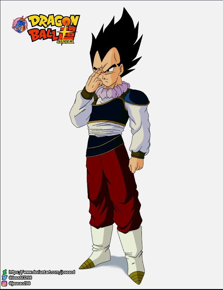 Fan Art Vegeta Dragon Ball Super 2 2020 Desenhista Joseacd98 Dragon Ball Super Dragon Ball Fan Art