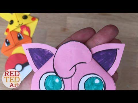 9 Pokemon Bookmark Corner Designs - Pokemon Go DIY - Red Ted Art's Blog