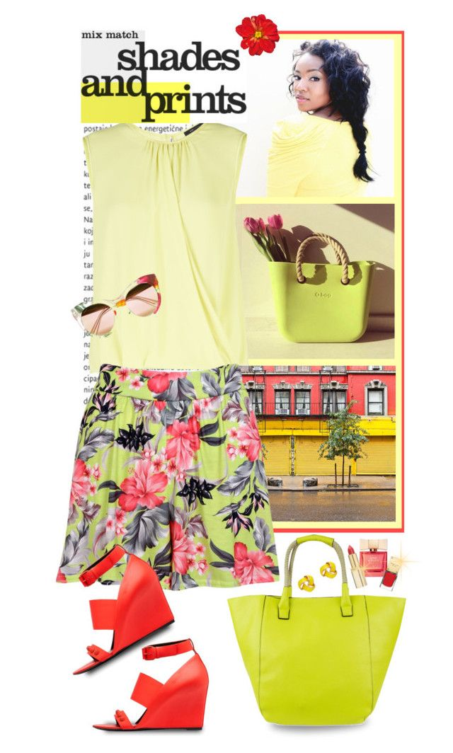 """""""Sunny Floral Styling"""" by shortyluv718 ❤ liked on Polyvore"""
