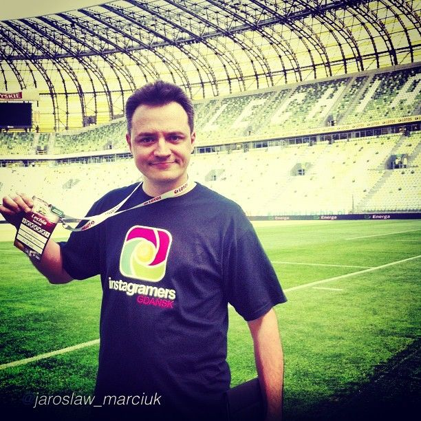 The best of IgersGdansk #InstaReporters. #football #instagood #instamood #beautiful #soccer #igerspoland #instagramers #pilkanozna #iphonesia #igers by @jaroslaw_marciuk (w: PGE Arena Gdańsk)